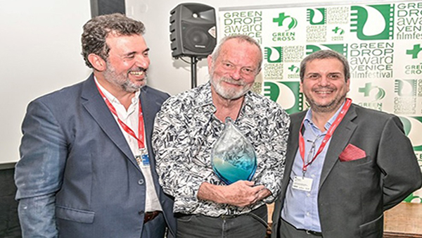 A Venezia 76 il regista Terry Gilliam, premiato con il Green Drop Award alla carriera, invita alla marcia per il clima