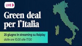 Green Deal per l'Italia su Raiplay